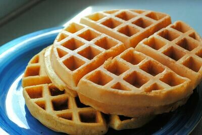Traditional Round Belgian Waffle