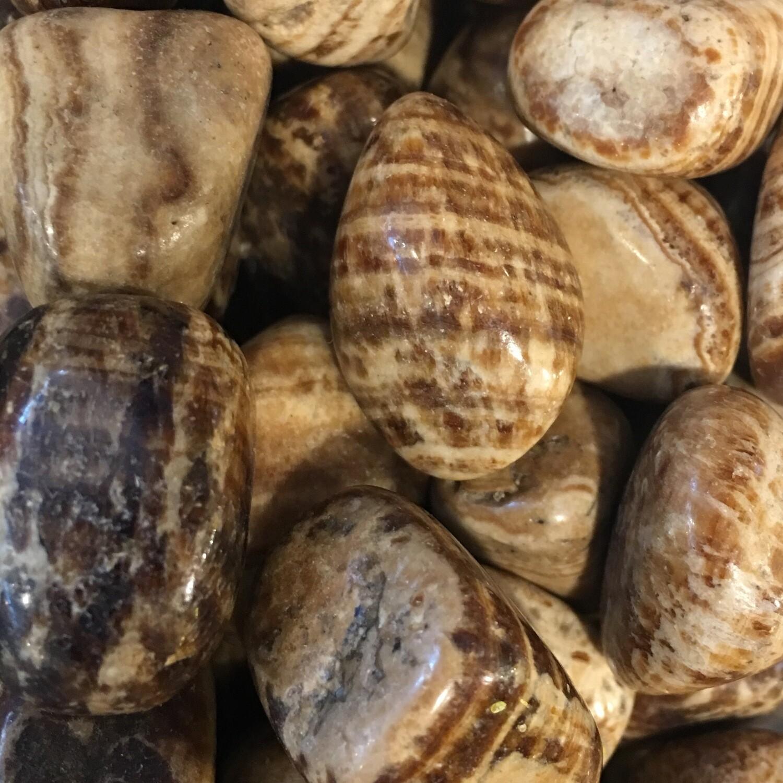 Aragonite Tumbled