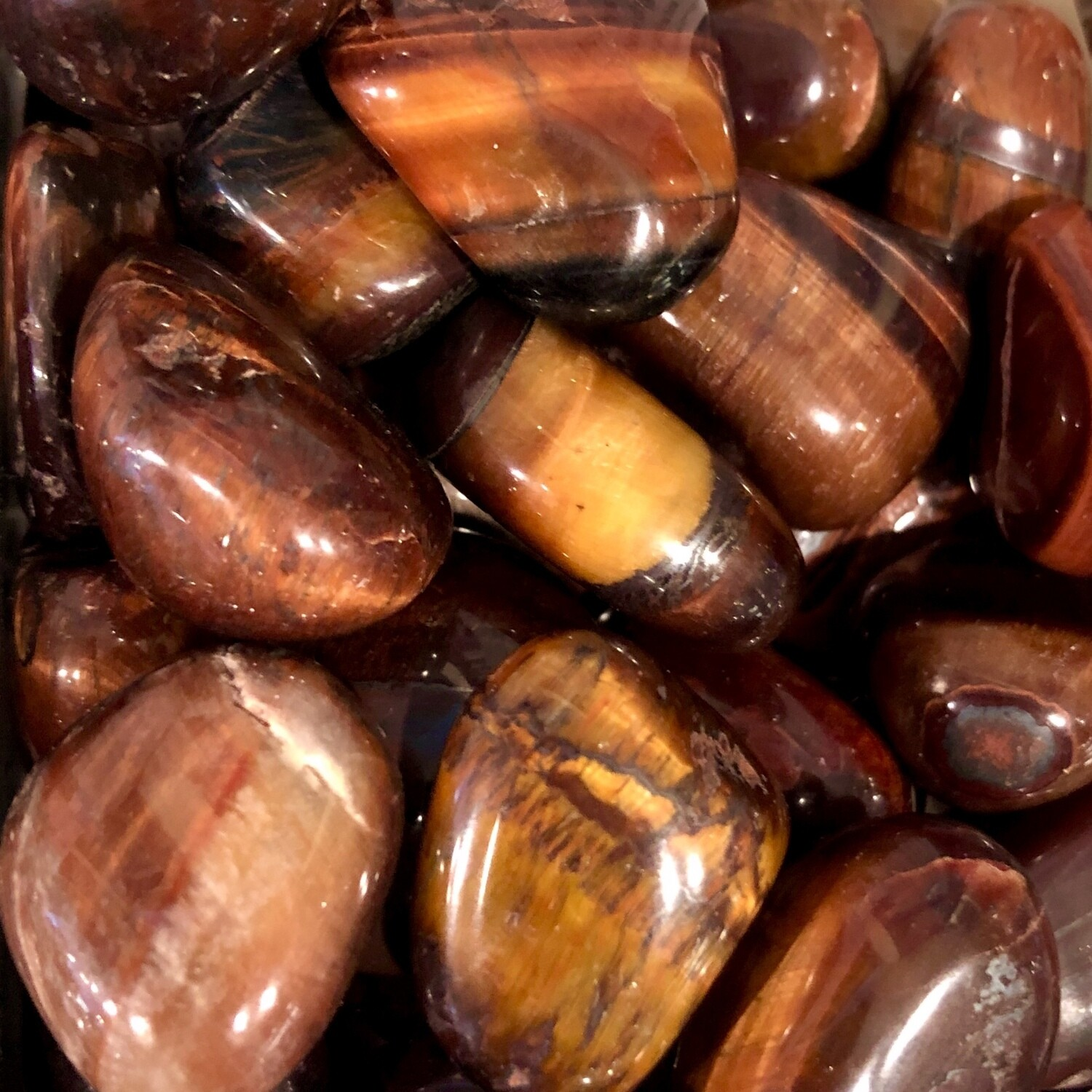 Red Tiger Eye Tumbled