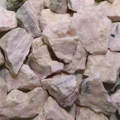 Pink Mangano Calcite Rough SM