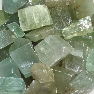 Green Calcite Rough Mini