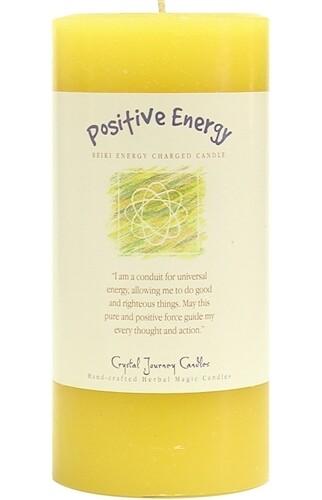 Affirmation Pillar Positive Energy