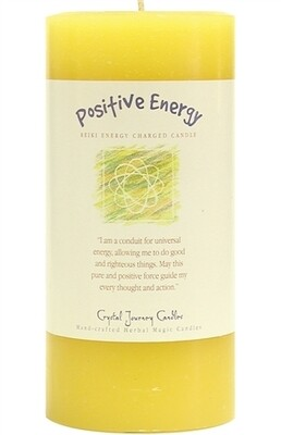 Affirmation Pillar Positive Energy
