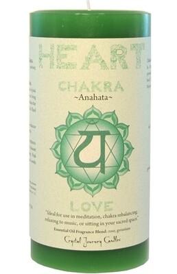 Chakra Pillar Heart