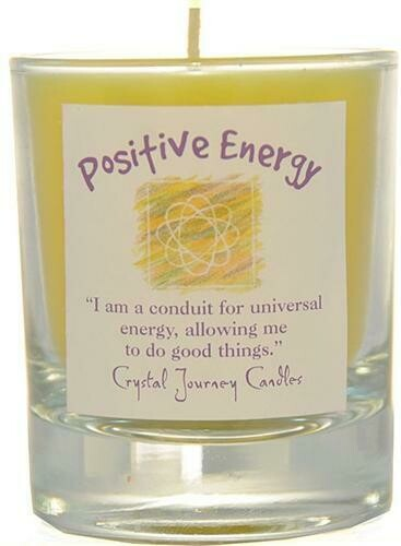 Affirmation Votive Positive Energy