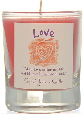 Affirmation Votive Love