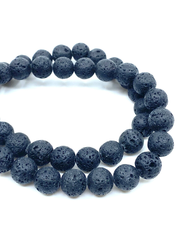 8mm Lava Stone Bracelet