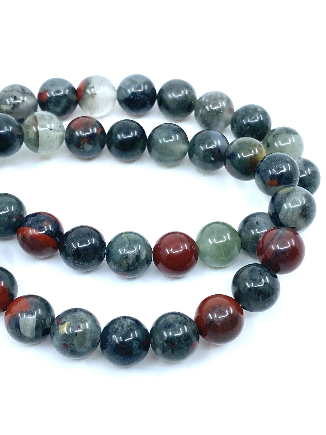 8mm Bloodstone Bracelet
