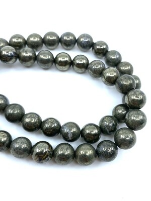 8mm Pyrite Bracelet