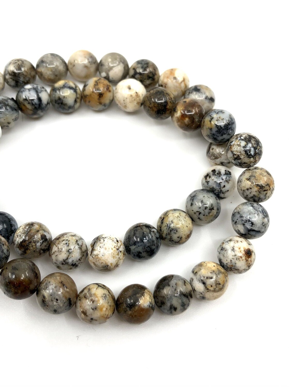 8mm Dendritic Opal Bracelet