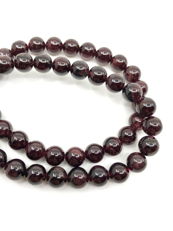 8mm Garnet Bracelet
