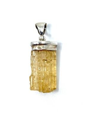 Topaz Crystal Pendant
