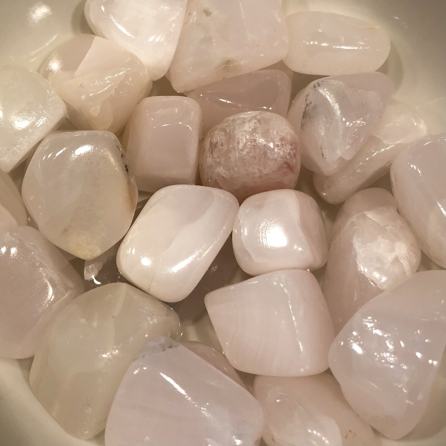 Pink Calcite Tumbled