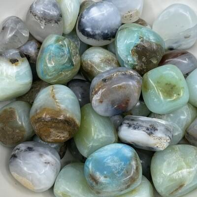 Andean Blue Opal Tumbled