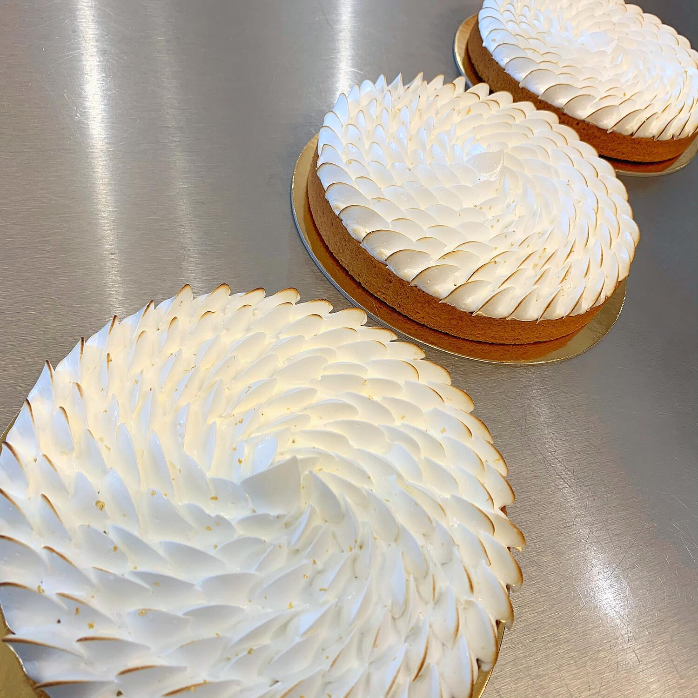 """lemon meringue tart, 7"""""""