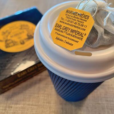 tea box MF 30 sachets: earl grey