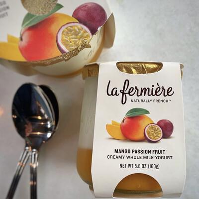 la fermière yogurt: mango passion