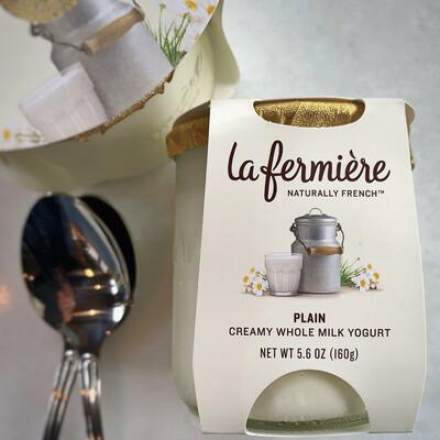 la fermière yogurt: plain