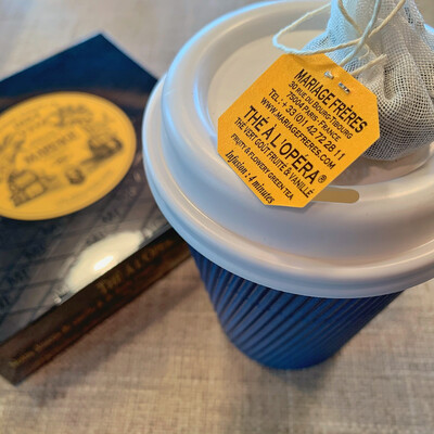 tea box MF 30 sachets: opera