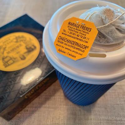 tea box: MF 30 sachets: chai