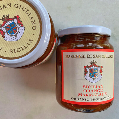 san giuliano sicilian orange marmalade