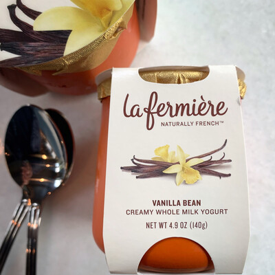 la fermière yogurt: vanilla