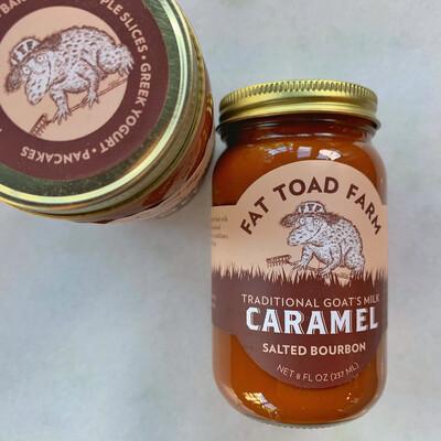 fat toad farm caramel: SALTED BOURBON