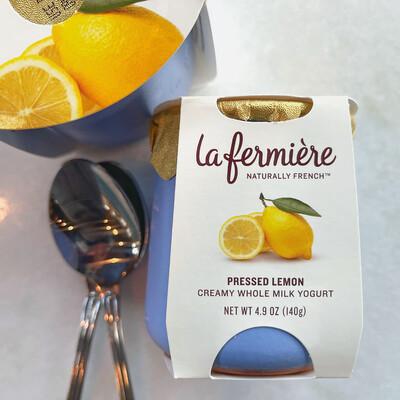 la fermière yogurt: lemon