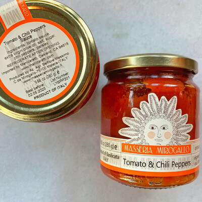mirogallo tomato sauce with chili peppers