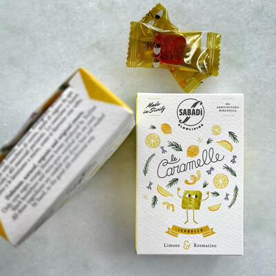 sabadi lemon rosemary hard candy