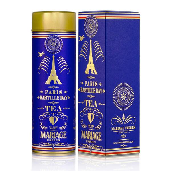 MF collector tea tin: PARIS BASTILLE DAY