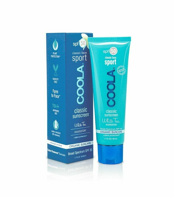 COOLA CLASSIC SPORT FACE SPF50 WHITE TEA, 50ml