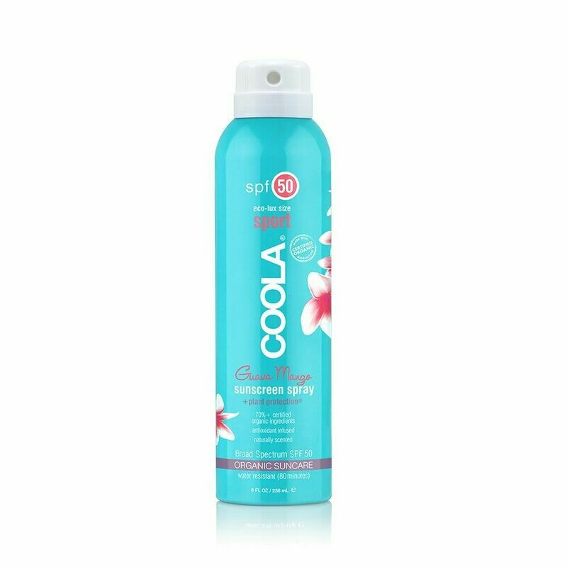 COOLA SPORT SPRAY SPF50 GUAVA MANGO, 236ml