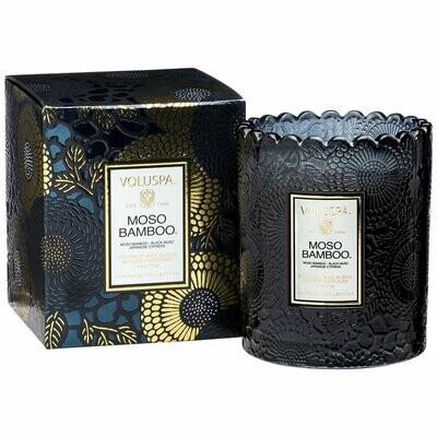 Moso Bamboo - Scalloped Edge Candle