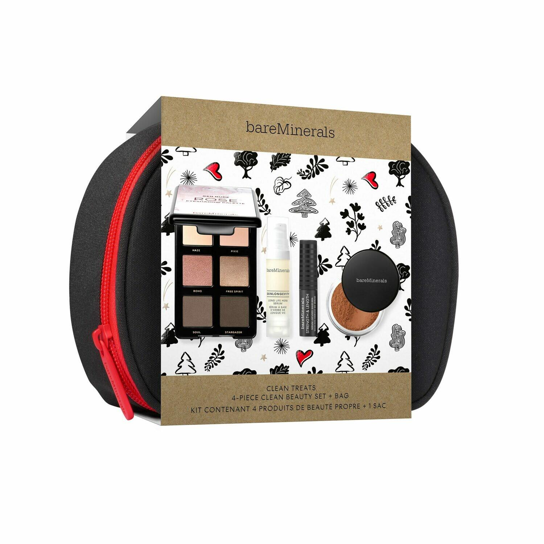 Clean Treats 4-Piece Clean Beauty Set + Bag
