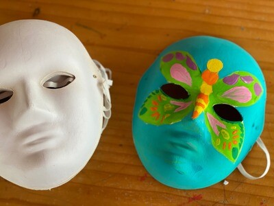Paper Mache Mask Activity Kit