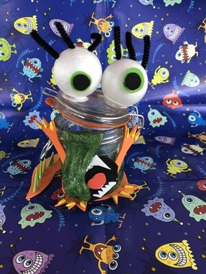 Halloween Monster kit - Slime And Clay