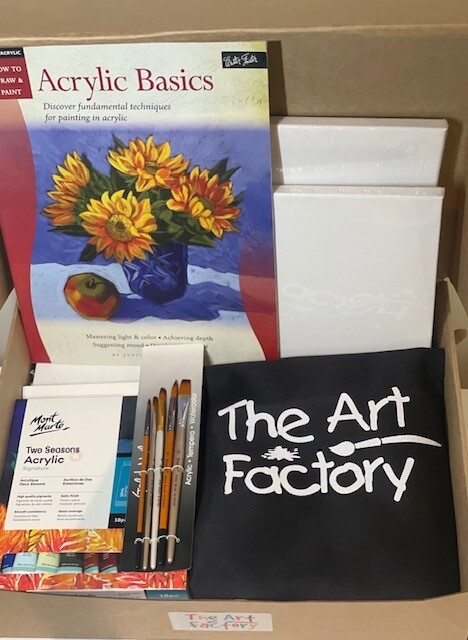 The Ultimate Acrylic Paint Starter Kit