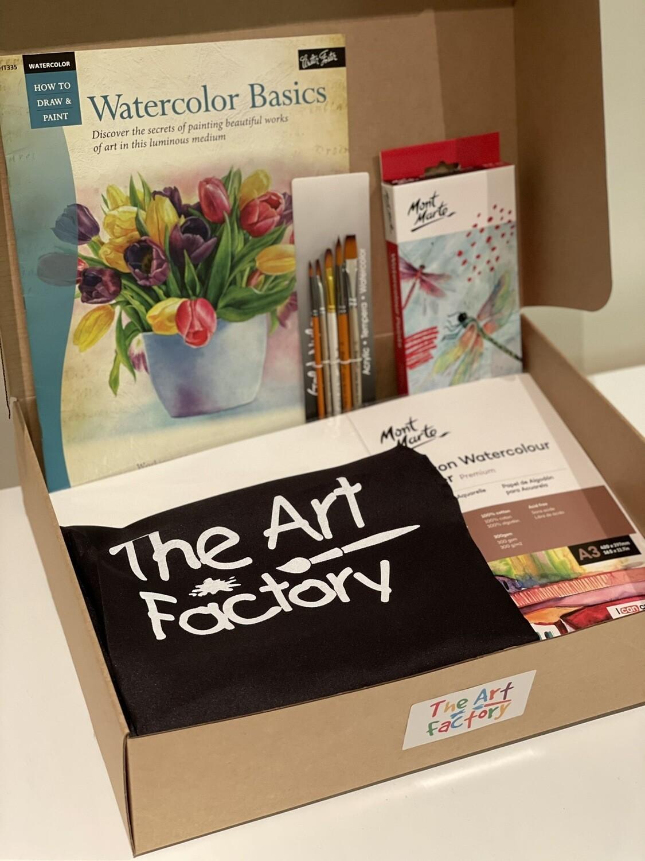 The Ultimate Watercolour Paint Starter Kit