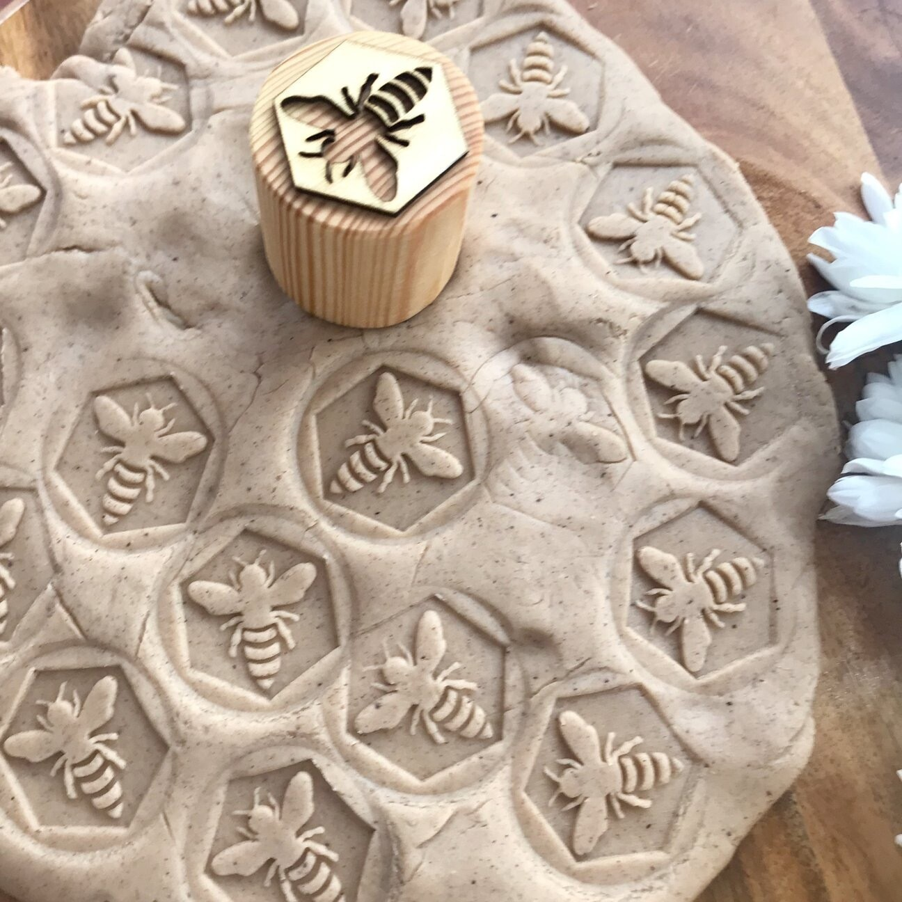 Bee Play Dough Stampers