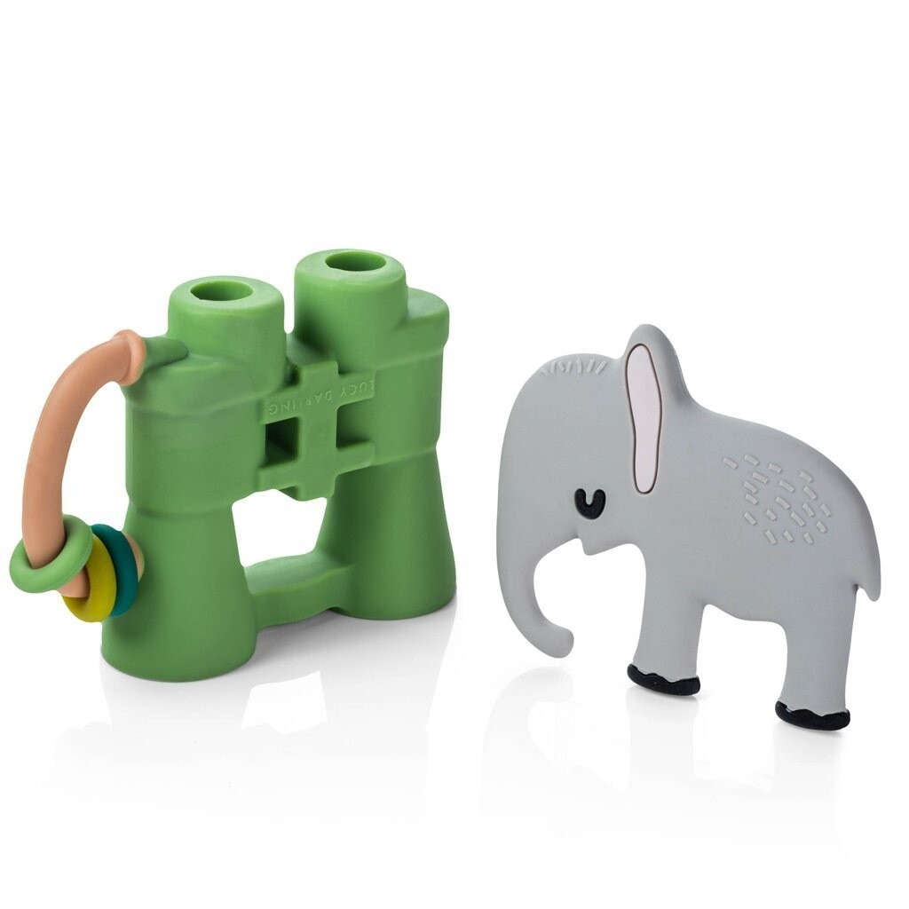 Animal Lover Teether Toy Set