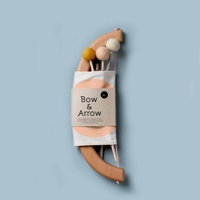 Bow + Arrow Set Peach