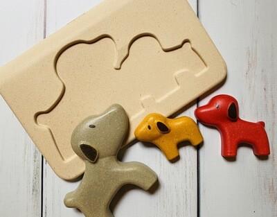 Dog Family Puzzle