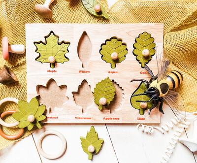 Montesorri Leaf Puzzle