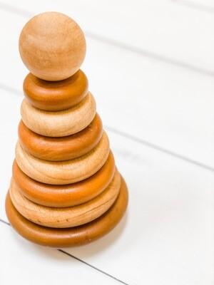 Natural Balancing + Stacking Rings