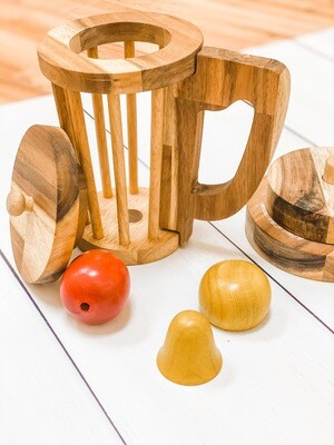 Wooden Blender