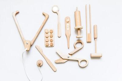 Handmade Artisan Doctor's Kit