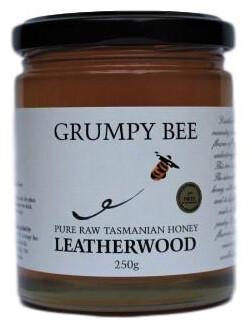 Grumpy Bee Leatherwood Honey 250g