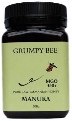 Grumpy Bee Manuka Honey MGO 330+ 500g