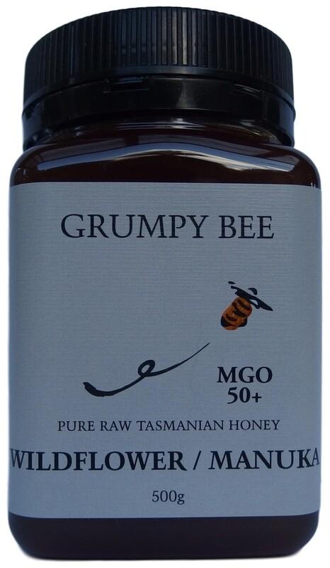 Grumpy Bee Manuka Wildflower Honey MGO 50+ 500g
